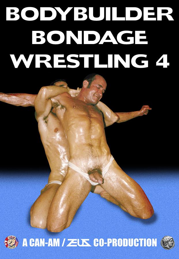 Bodybuilder Bondage Wrestling